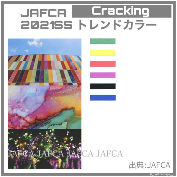 2021SSトレンドカラー:Cracking