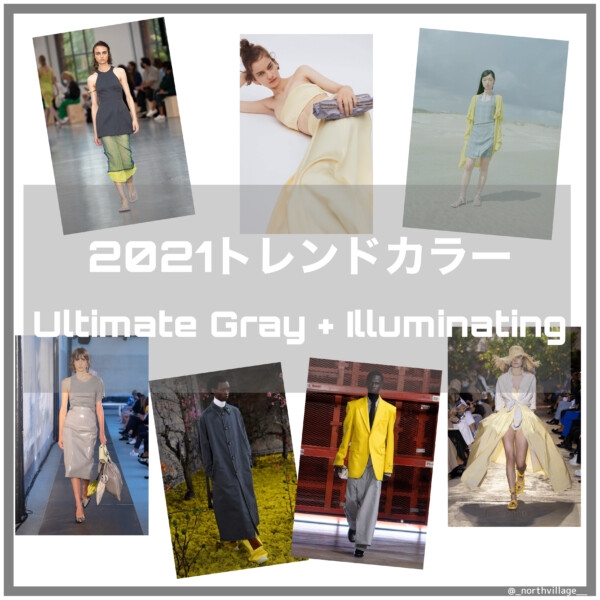 PANTONE Color of the Year 2021:Ultimate Gray + Illuminating解説編